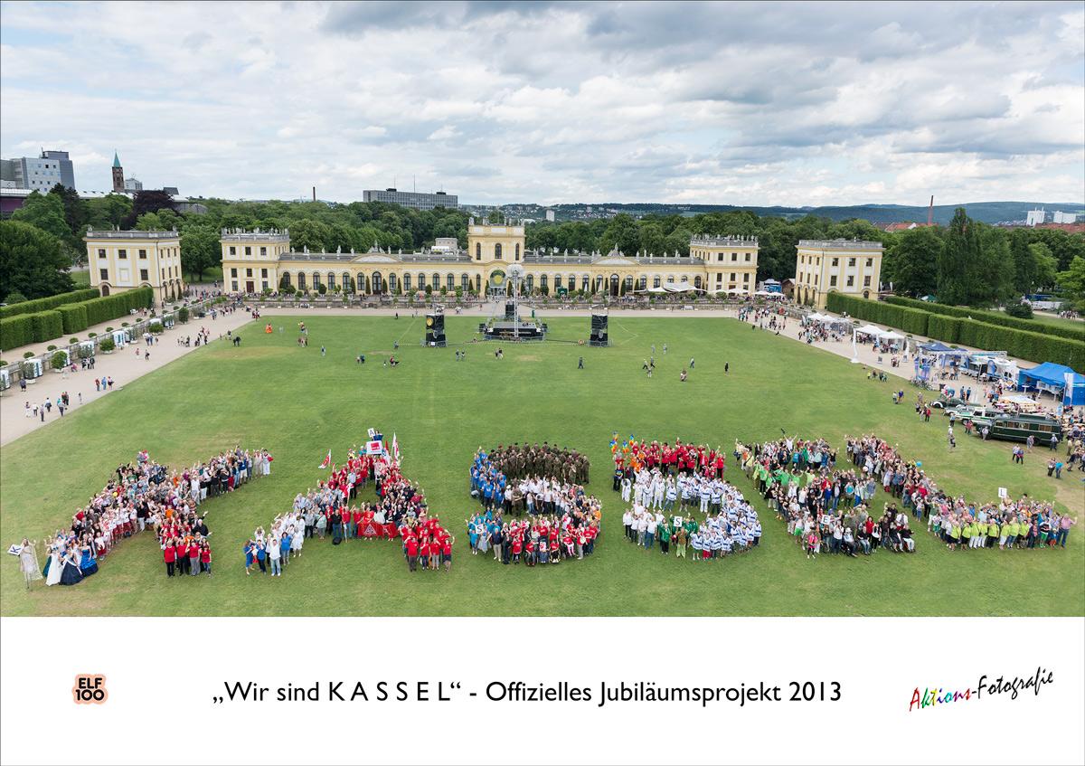 offizielles Jubiläumsprojekt Kassel 1100